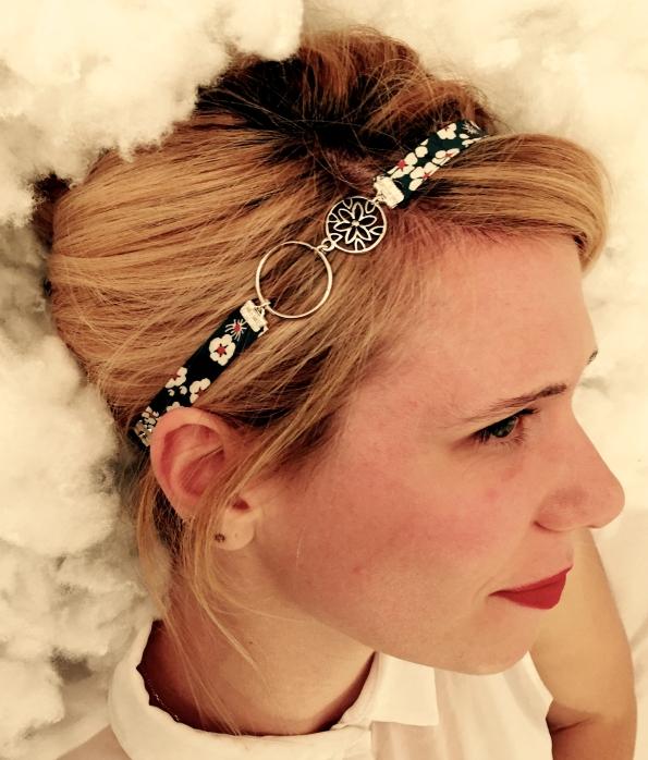 Headband fleurs ©Pink Lemon Créations