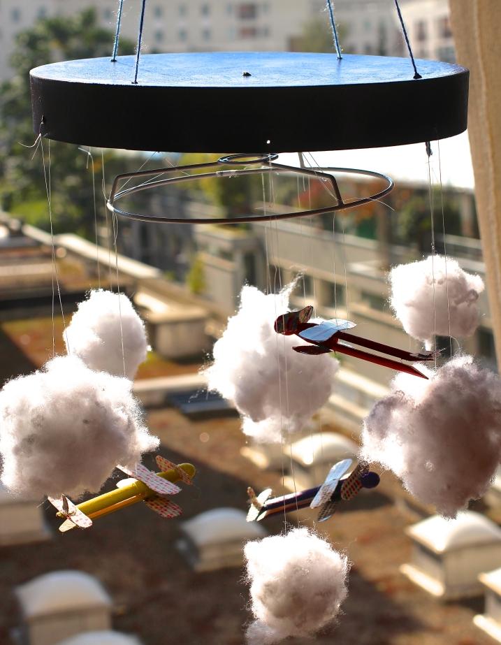 Mobile avion ©Pink Lemon Creations