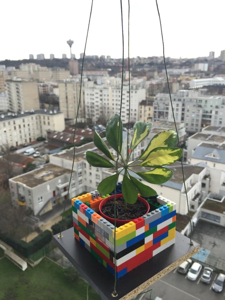 Cache-pot lego ©Pink Lemon Creations 2